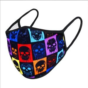 Accessories - 🔮Colorful Skull Face Mask!